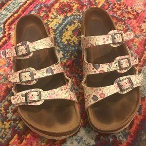 S/S 2019 Floral Birkenstock sandals size 39